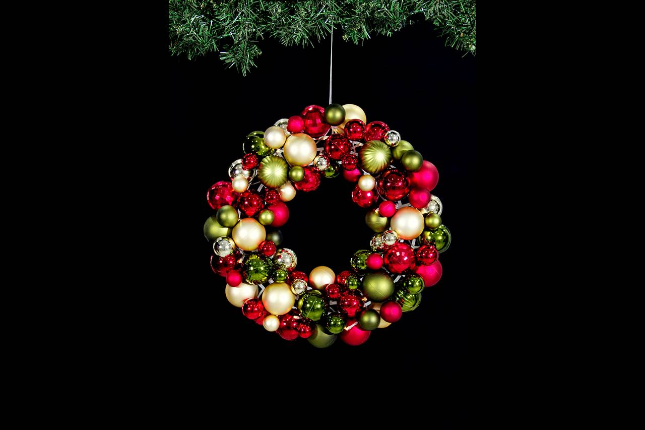 Christmas Wreath from Twinkly