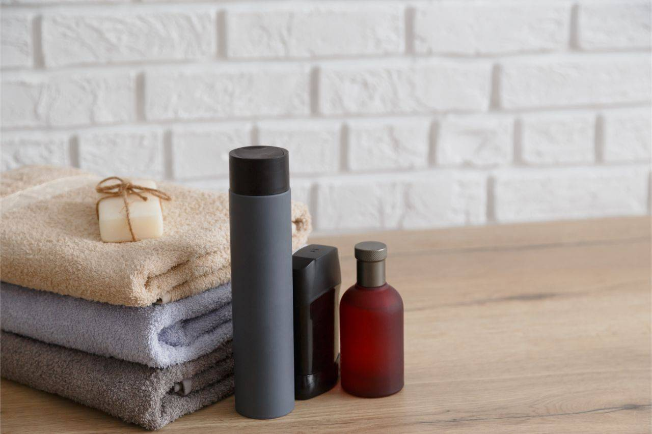 Different toiletries